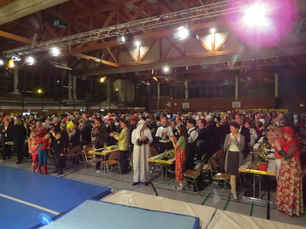 650 begeisterte Besucher und Mitwirkende